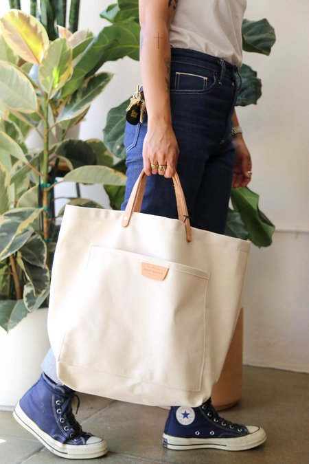 Bradley Mountain Coal Tote - Natural