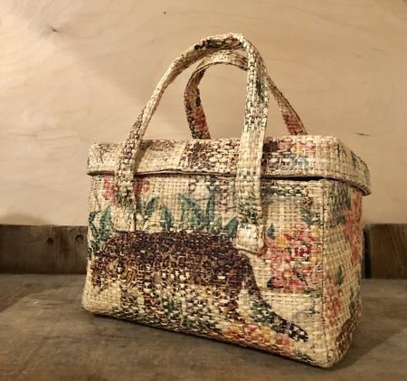 Maria La Rosa Picnic bag - Tiger print