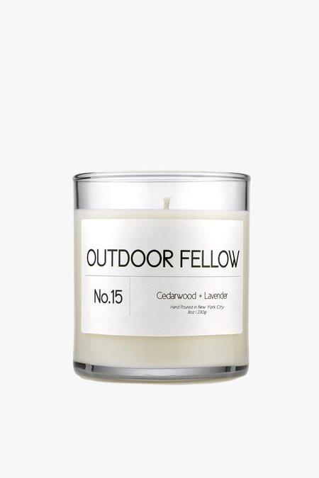 Outdoor Fellow NO.15 Cedarwood+Lavender Candle