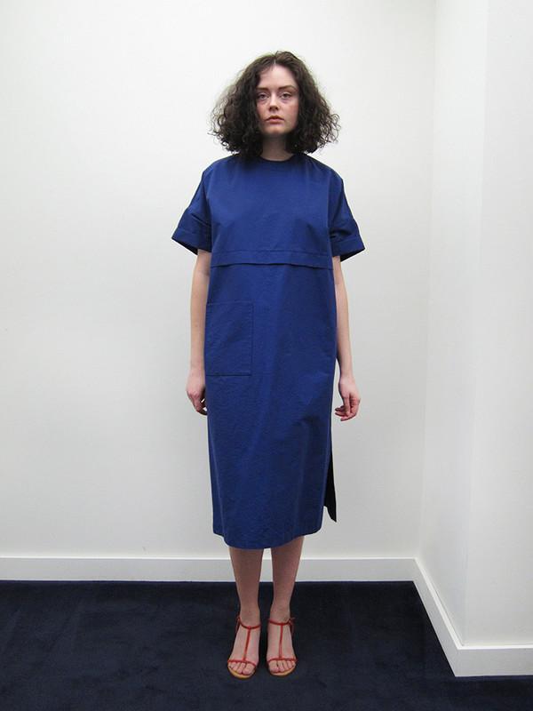 Suzanne Rae Oversized Pocket Dress