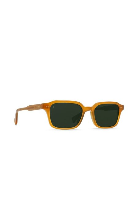 RAEN Boyd Sunglasses - Honey/Bottle Green