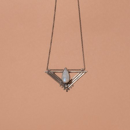 Stray Silver Wadjet Necklace