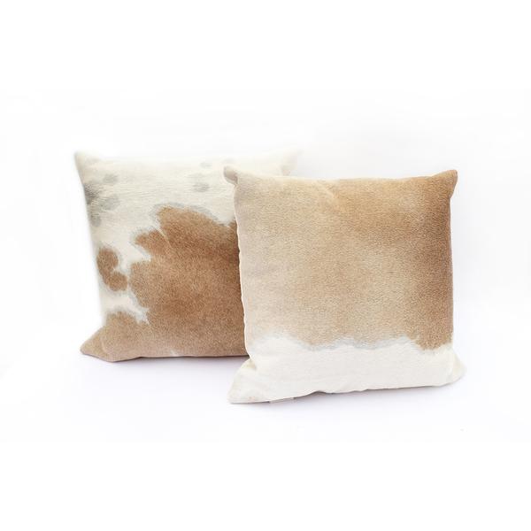 Primecut Palomino Cowhide Pillow