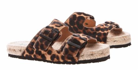 Manebi Dakota Nordic Sandals - Leopard