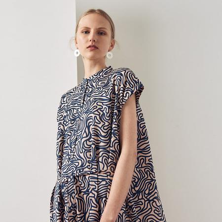 Kowtow Wandering Dress - Maze