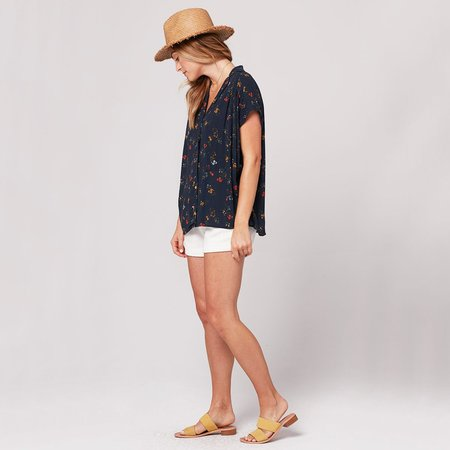 Knot Sisters Emily Top - Florence Floral Print