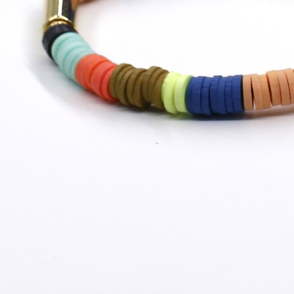 Julie Thevenot #14 SKINNY MULTICOLOR ISIAND BRACELET