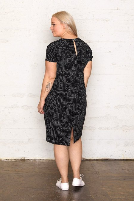 North Of West Labyrinth Cocoon Dress