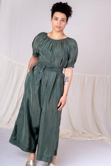 Caron Callahan Bouncy Cupro Theos Jumpsuit - Green