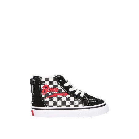 785d98848f ... KIDS VANS Toddler David Bowie Sk8-Hi Zip - Checkerboard