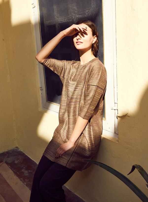 Seek Collective AW16 Pre-Order: Sara Dress 3/4, handloom
