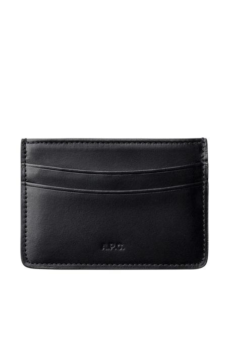 A.P.C. Andre Cardholder - Black