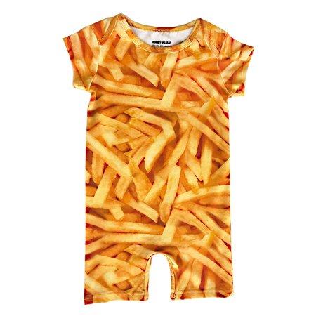 KIDS Romey Loves Lulu Short Romper - Fries