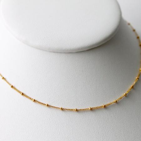 Little Hawk Satellite Choker Necklace - Gold