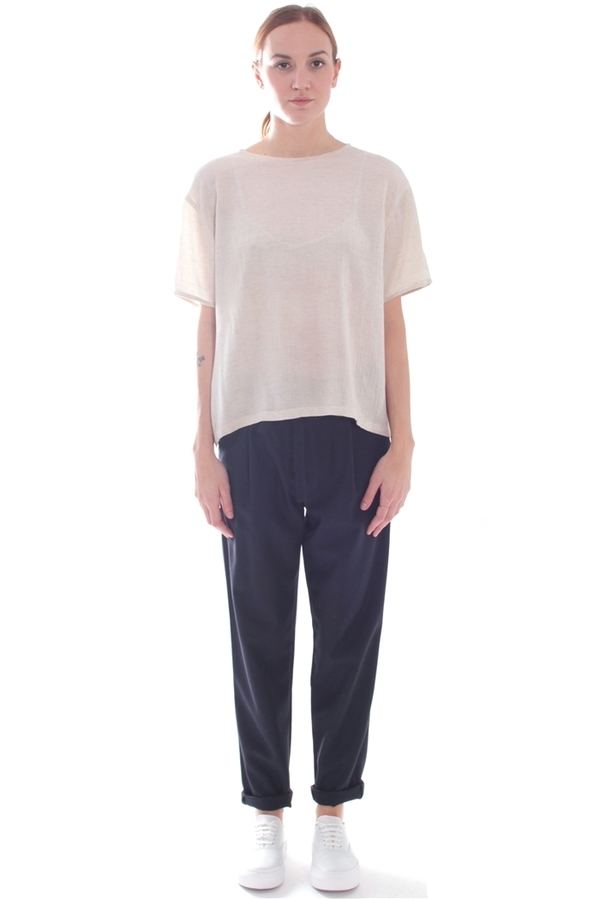Lauren Manoogian Solid Arch Pants