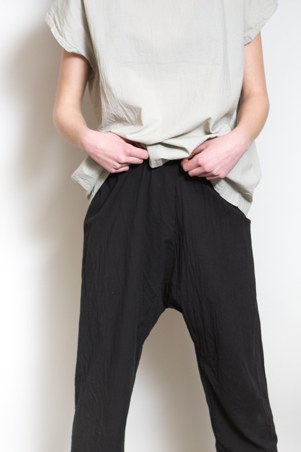 Uzi NYC Drop Crotch Pant
