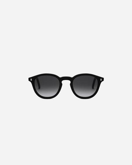 Unisex Monokel Nelson Sunglasses - Black