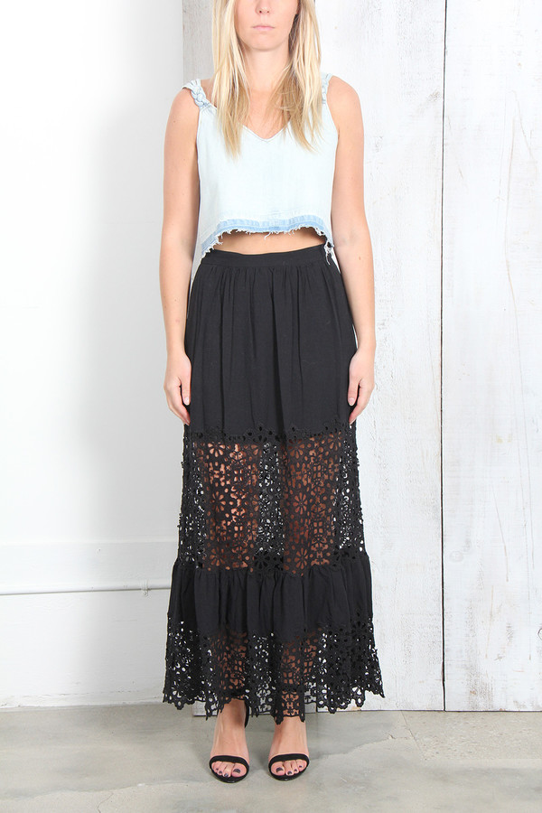 SEA SNOWFLAKE COMBO SKIRT