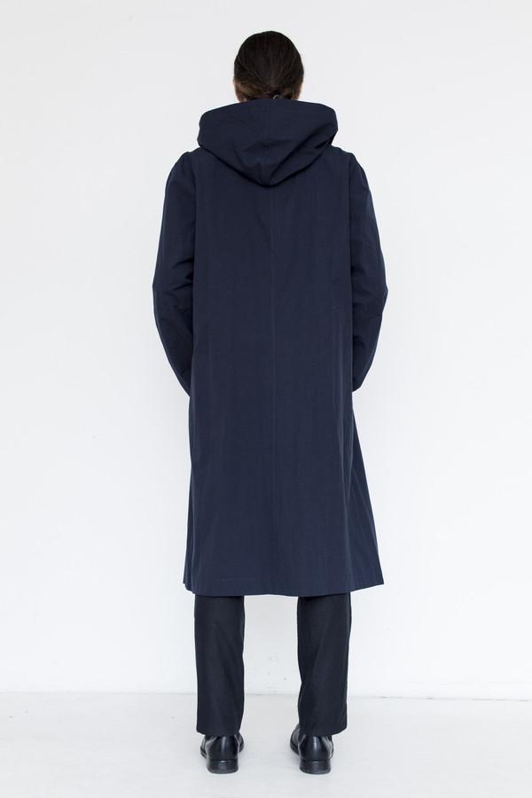 Men's Assembly Cotton Hoodcoat - Navy