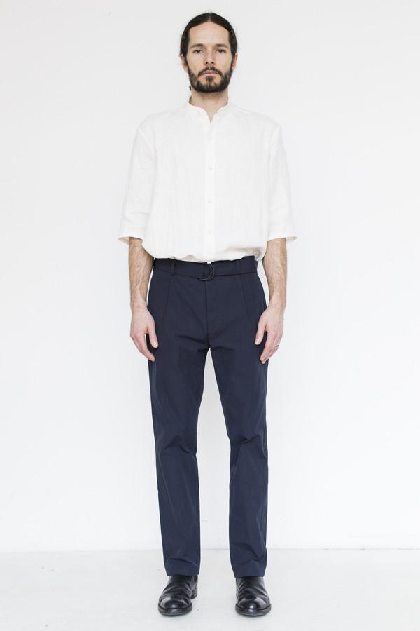 Assembly Cotton Pleat Pant