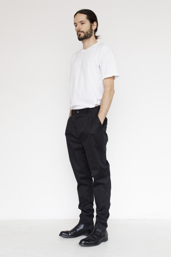Men's Tom Wood Cotton Tapered Pant