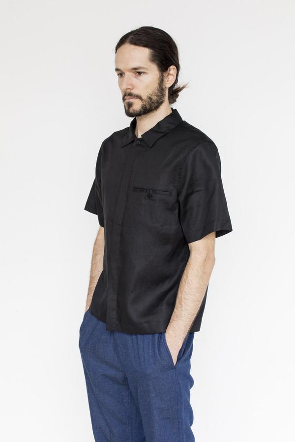 Men's Fanmail Linen Uniform Shirt