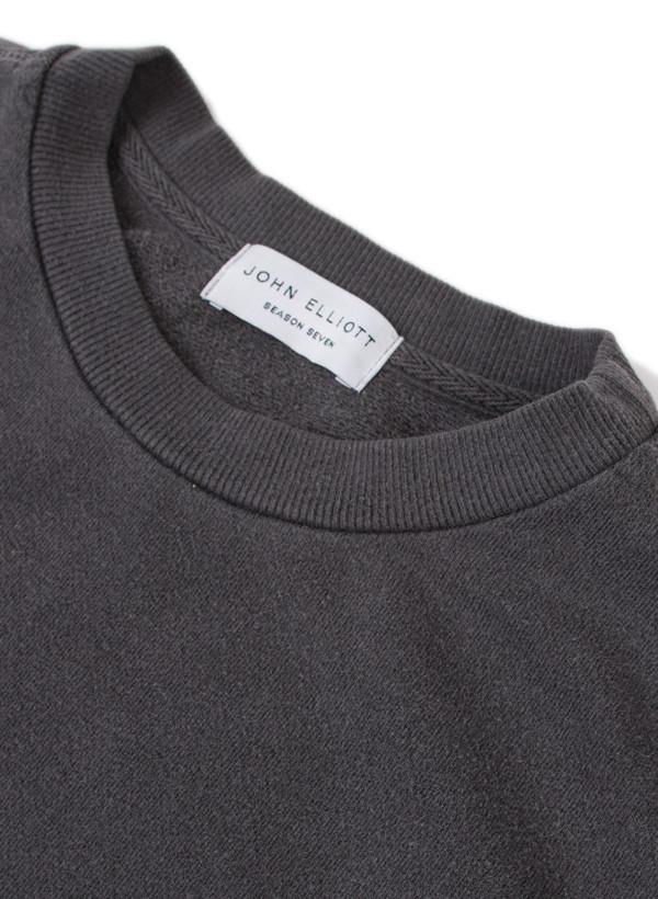 Men's John Elliott LS Paneled Crewneck Sweatshirt Black