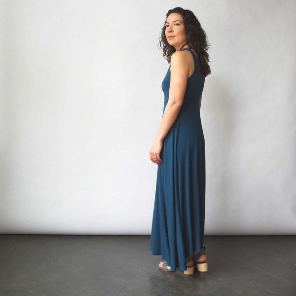 Curator Sandy Dress in Teal