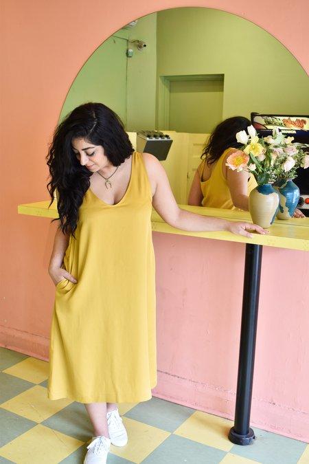 Amanda Moss Joni Dress - Golden