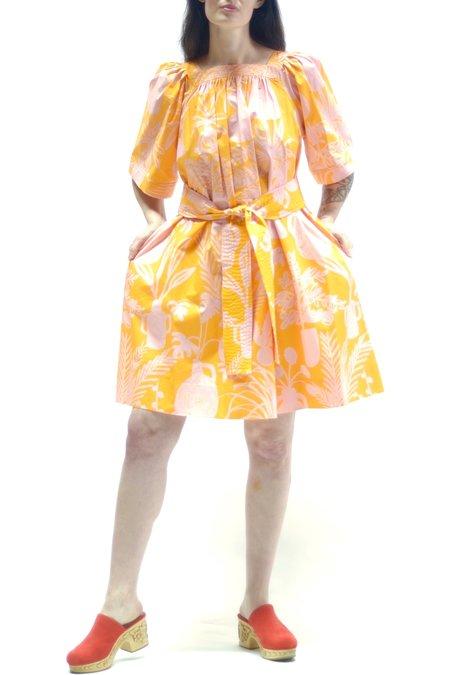 Whit Mira Dress - Potted Plant Orange/Pink