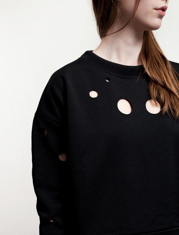 Acne Studios Baylee Cut Out Sweatshirt
