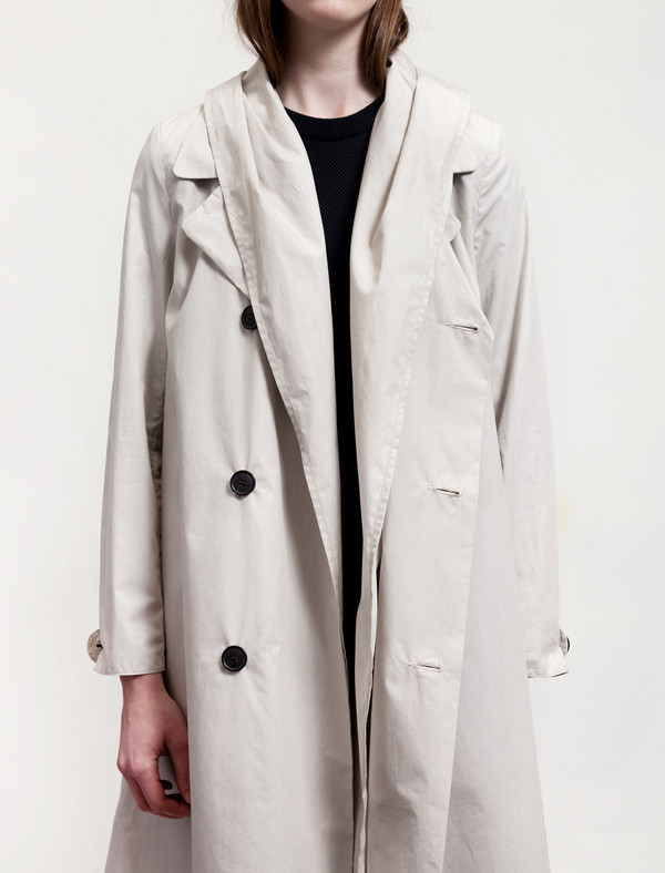 Stephan Schneider Coat Argent Nude