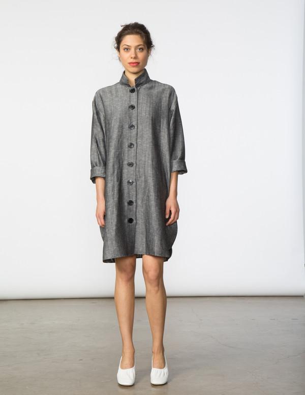 SBJ Austin Stacey Dress in Dark Grey
