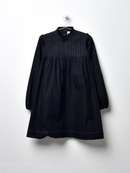 Ganni Slate Dress - Black