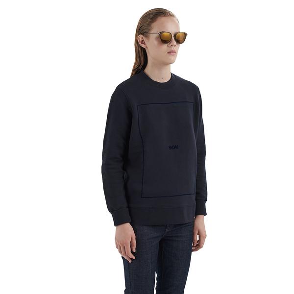 Wood Wood Willow Sweatshirt in Navy