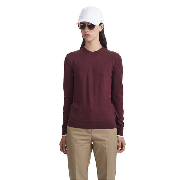 Wood Wood Renee Sweater in Tawny Port