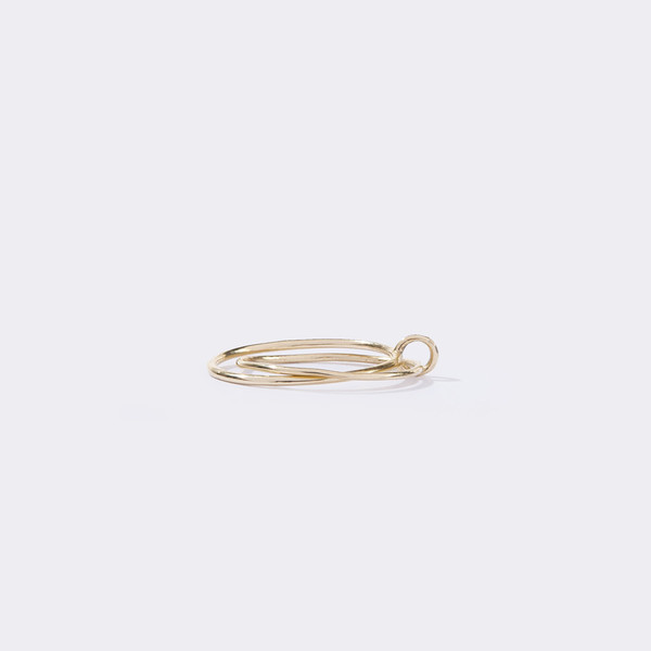 Metalepsis Projects Binary Ring Brass