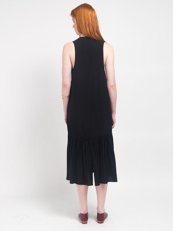 Howard Column Dress Licorice