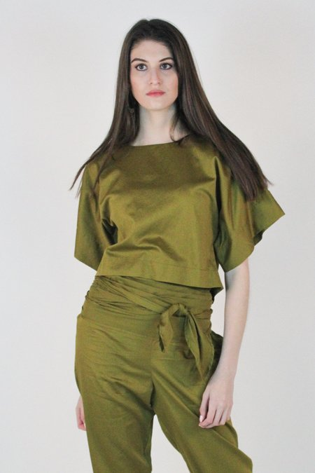 2f7593e17bc0f Tops in Green from Indie Boutiques: Sale | Garmentory