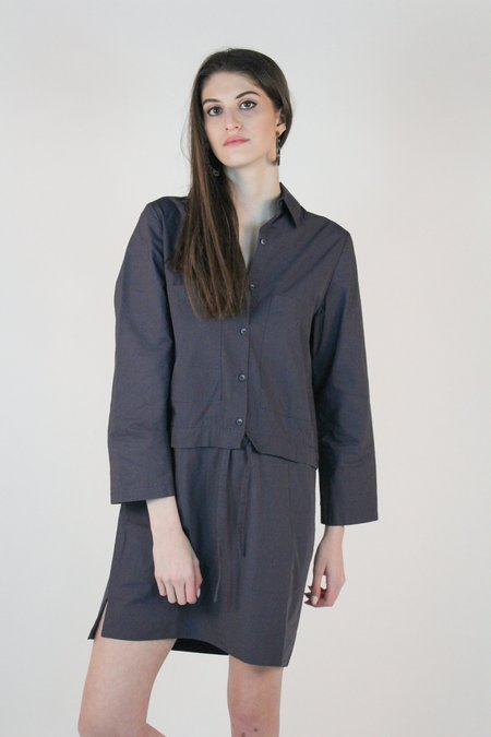 Winsome Jeanie Transitional Dress - Blue/Gray