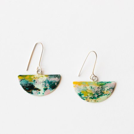 Johanne Ratté Half-Moon Earrings