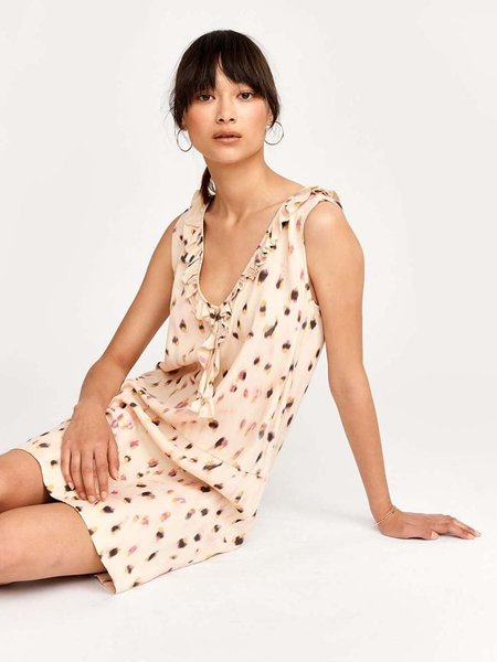 bellerose house dress - combo 1 print