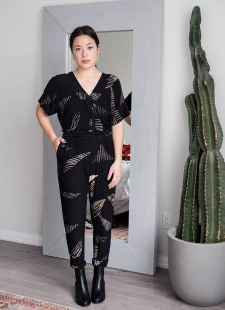 Dagg & Stacey Clover Jumpsuit - Black