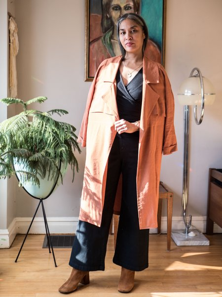 Eve Gravel Muscat Jacket - Terracotta