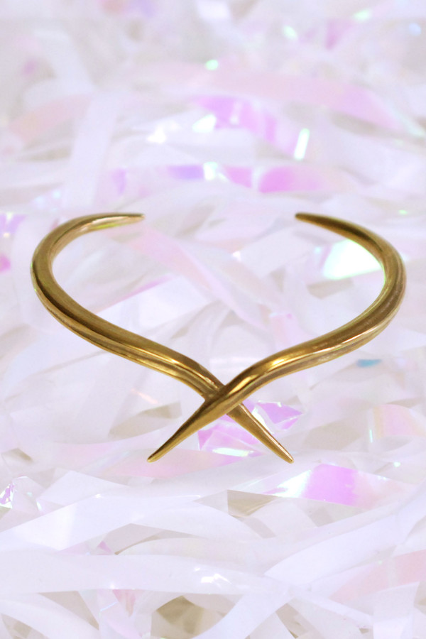 K/LLER COLLECTION Quill Crossed Cuff