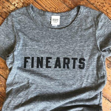 Megan Huntz Fine Arts T-Shirt - Classic Gray