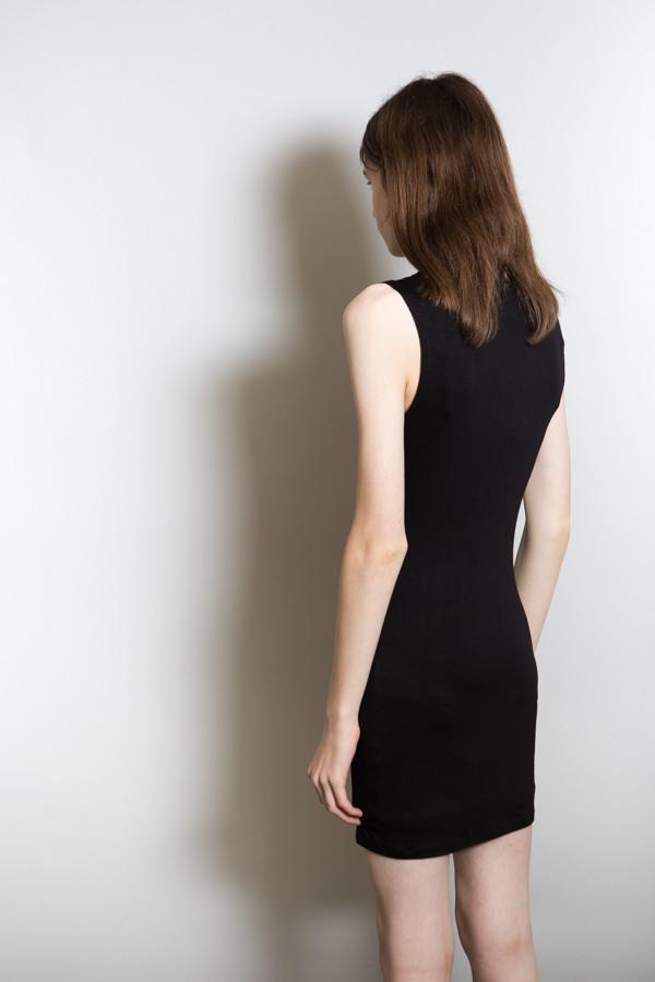 BLQ Basiq High Neck Dress / Black