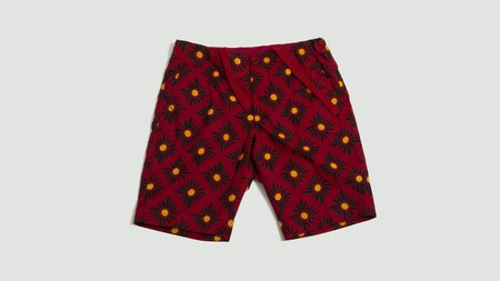 Aspesi Short Trousers - Red