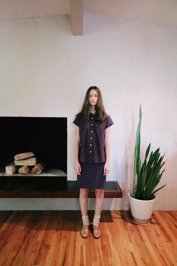 Bridge & Burn Faber Rust Skirt