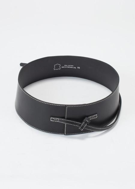 Ivan Grundahl 10cm Belt - BLACK